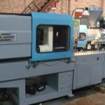 Робота  термопластавтомата (ливарної машини) англійською Plastic injection Molding Machine